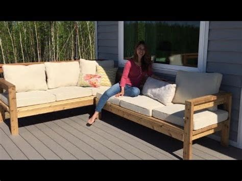 wow   build   outdoor sectional tutorial youtube