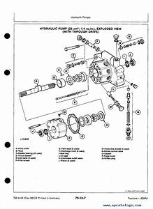John Deere 3050 3350 3650 Tractor Tm4443 Technical Manual