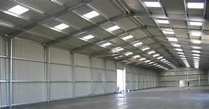 Hangar Metallique En Kit D Occasion : construction de hangars m talliques d montables en kit ~ Nature-et-papiers.com Idées de Décoration