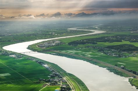 Japan, River, Nature, Landscape, Aerial View Wallpapers HD ...