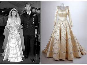 queen elizabeth39s royal wedding gown onewedcom With wedding dress of princess elizabeth