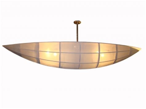 The Open Boat Modernism by Contemporary Ship Or Canoe Form Ceiling Light