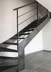 Escalier Exterieur Metal : escalier m tal brut style industriel vend e escaliers ~ Voncanada.com Idées de Décoration