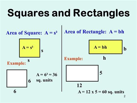 Review Area Of 2d Shapes Keystone Geometry  Ppt Video Online Download