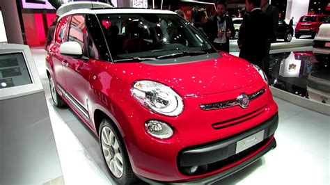 fiat 500 popstar 2013 fiat 500l pop exterior and interior walkaround 2012 auto show
