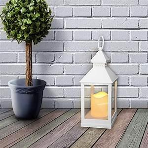 Laterne Kerze Draußen : garten laterne flackerlicht led kerze windlicht leuchte ~ Watch28wear.com Haus und Dekorationen
