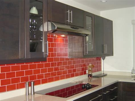 Red Tile Backsplash : 12 Subway Tile Backsplash Design Ideas + Installation Tips