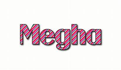 Megha Text Logos