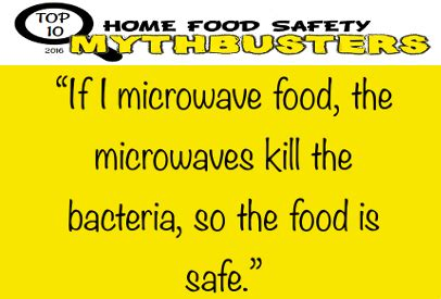 top food safety myths facts food safety net