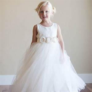 bridal fashion show seaside flower girl dress With girl wedding dresses