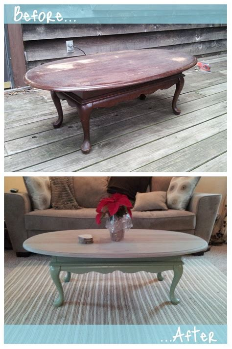 coffee table refinished coffee table