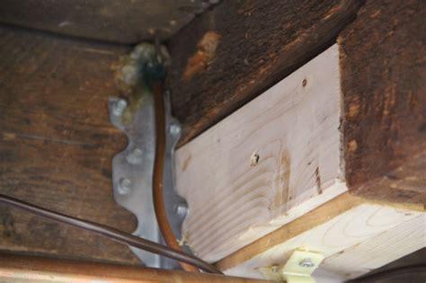 How To Fix Broken Floor Joist by How To Fix A Broken Floor Joist A Concord Carpenter