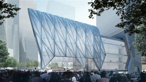 Culture Shed Hudson Yards by New York 15 Hudson Yards Morph 279m 914ft 70 Fl