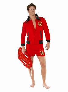 Baywatch Head Lifeguard Costume | Sexy Men's Costumes ...