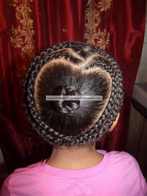 Different Kinds of Curls: Cute protective Valentine's Day
