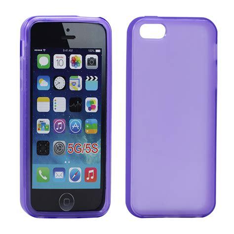 cheap iphone 5 iphone 5 5s matte tpu gel purple
