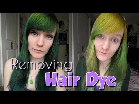 removing semi hair dye  vitamin  youtube
