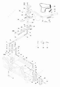 Ski Doo 1996 Formula - Z  Steering System