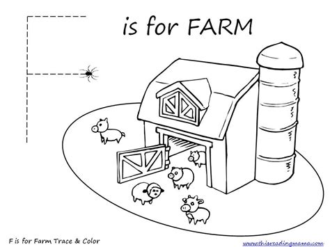 Free Farm Prek/k Pack {updated And Expanded}