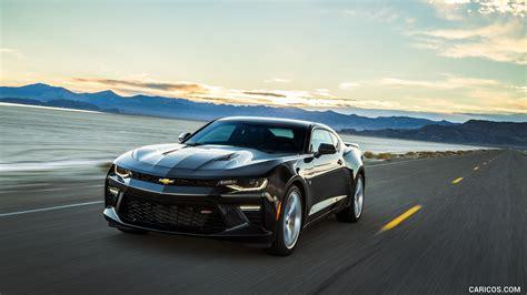 2018 Chevrolet Camaro Ss Black Front Hd Wallpaper 46