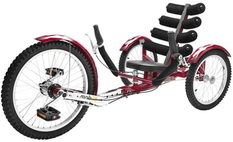 Mobo Shift Reversible Three Wheeled Cruiser Recumbent