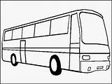 Bus Coloring Pages sketch template