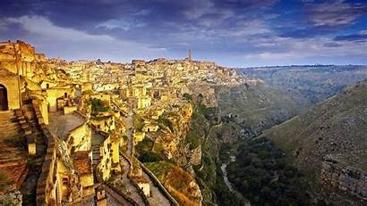Unusual Places Matera Italy Vacation Urban Italian