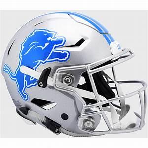 Detroit Lions Riddell Full Size Authentic Speedflex Helmet