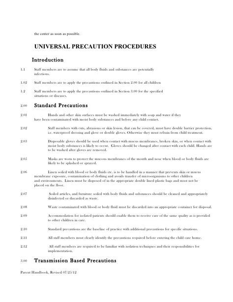 policy handbook preschool 434 | policy handbook preschool 16 728