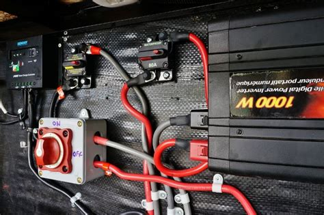 upgrading my rv battery bank and 12 volt system airstream trailers house boat rv battery