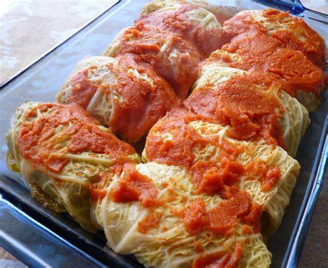 cabbage rolls seasonal ontario food lamb cabbage rolls