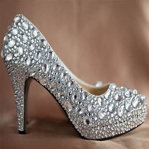 35 Best Images About Bling Bridal Shoes On Pinterest
