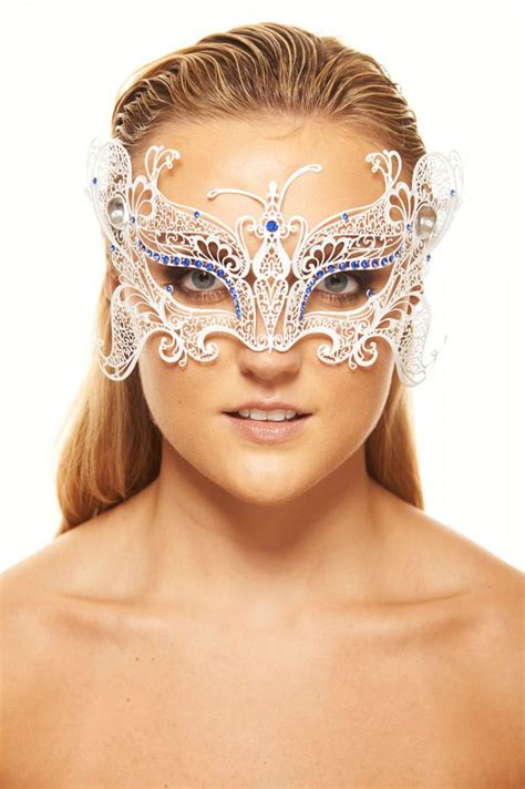 monarch butterfly masquerade mask  gems