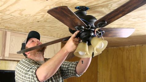 how to replace a ceiling fan with a light fixture