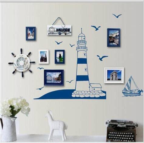 Diy Blue Room Decor by Blue Lighthouse Seagull Photo Frame Diy Wall