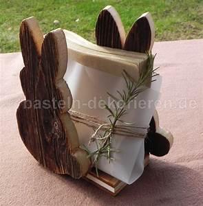 Osterdeko Basteln Aus Holz : tischdeko zu ostern basteln und dekorieren ~ Orissabook.com Haus und Dekorationen