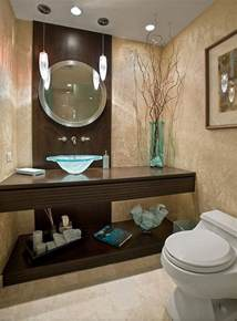 contemporary guest bathroom decor ideas decoist - Bathroom Decorating Ideas