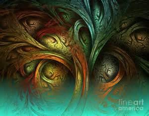 Digital Painting Tree Art
