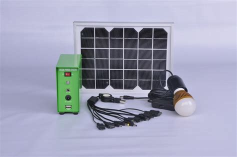 solar home lighting system compatible for indoor and