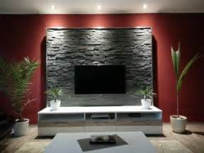 steinwand wohnzimmer bilder die besten 17 ideen zu tv wände auf tv möbel und dekoration rund um den fernseher
