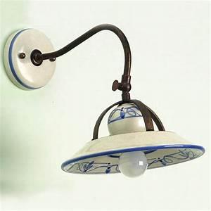 Wandlampen Im Landhausstil : nostalgische wandlampe im italienischen landhausstil g nstig kaufen bei lampen suntinger shop ~ Sanjose-hotels-ca.com Haus und Dekorationen