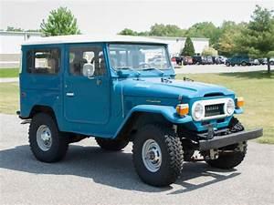 Toyota Land Cruiser 1977 Blue For Sale  Fj40240050 1977
