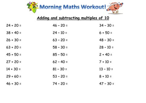 Year 2 Mental Maths Skills By Joanneknight  Teaching Resources Tes