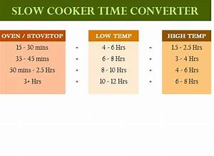 Project Pipeline Management Slow Cooker Time Converter My Excel Templates