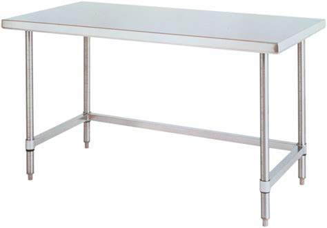 stainless steel table l labrepco hd super stainless steel work table with