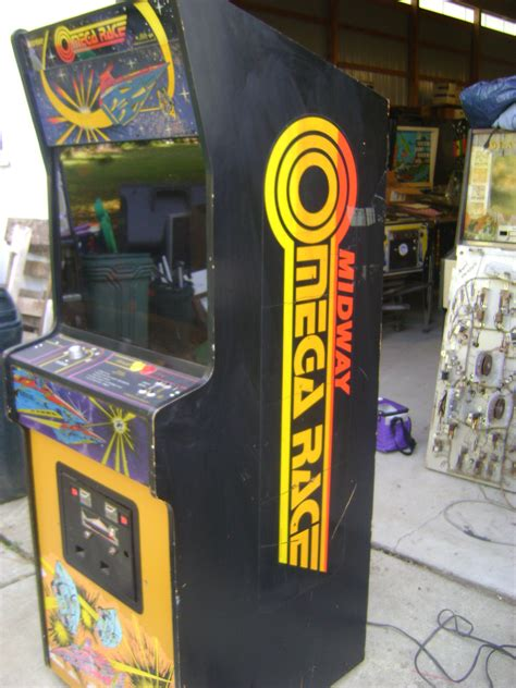 Omega race arcade machine