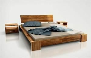 Lit Pas Cher 1 Place : lits natural wood design ~ Teatrodelosmanantiales.com Idées de Décoration