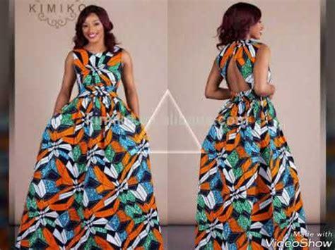 Robe Wax Africain 60 Model Longue Robe Wax Africaine 2017