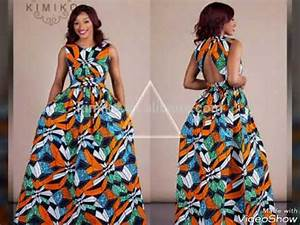 60 model longue robe wax africaine 2017 youtube With robe longue pour enfant