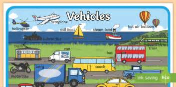 Large Transport Display Poster